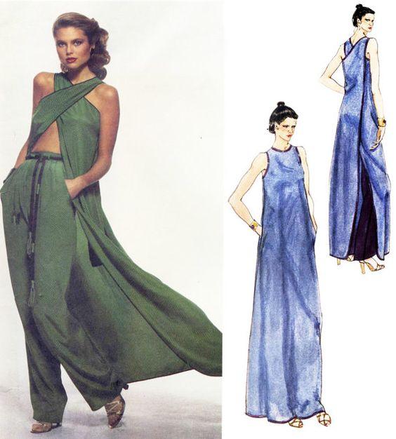 1970s Vogue American Designer Geoffrey Beene by PatternAndStitch, $38.00
