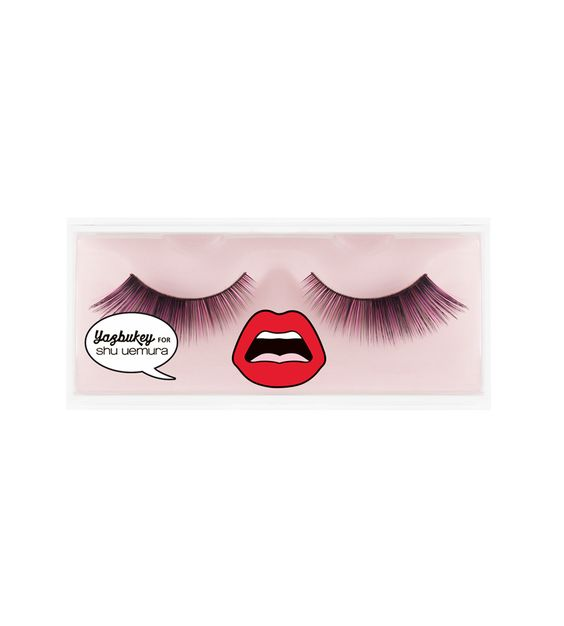 flip color false eye lashes by yazbukey for shu uemura