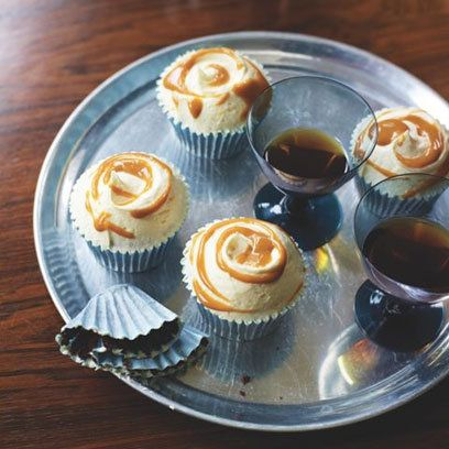The Hummingbird Bakery's salted caramel cupcakes recipe. For the full recipe, click the picture or visit RedOnline.co.uk