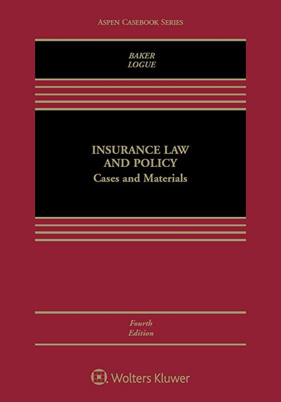 Epub Insurance Law And Policy Cases And Materials Aspen