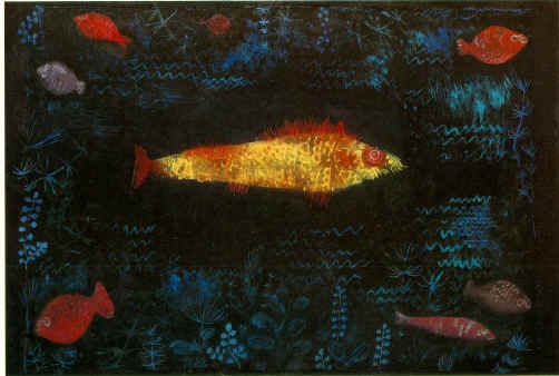 Paul Klee. Golden Fish