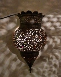 wandlamp mamouinia gebruind koper tijdelijk uitverkocht
