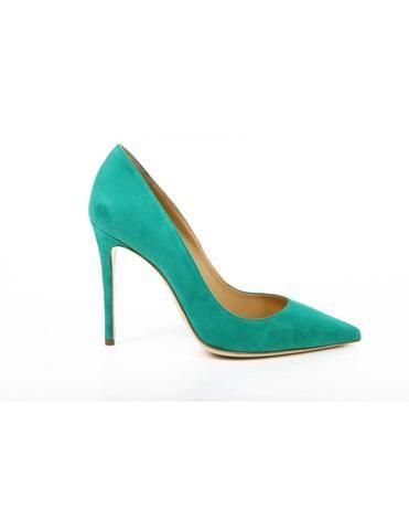 Versace 19.69 Abbigliamento Sportivo Milano ladies pump 27903 CAMOSCIO VERDE…