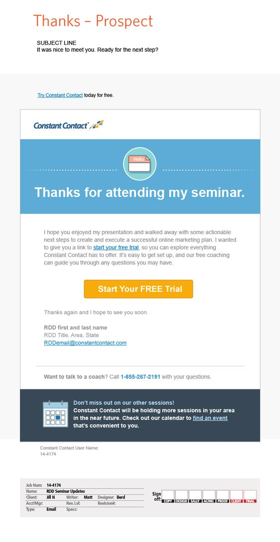 Constant Contact email design6 Email Portfolio Pinterest - Event Plan Template