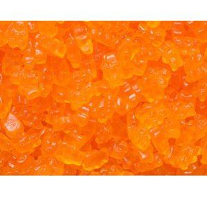 Orange Gummy Bears: 5LB Bag