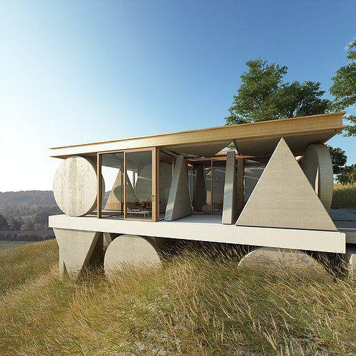 Town And Concrete L Architecture Du Futur Au Present