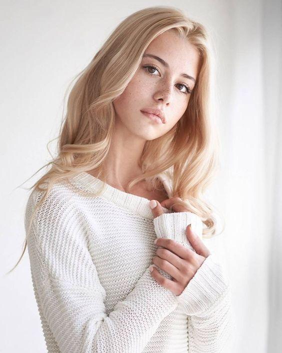 Braune blond augen und Archiv 2014