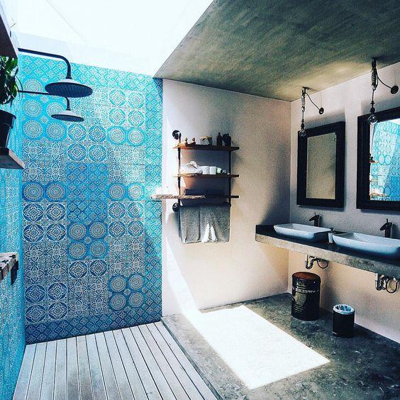 Modern bathroom inspiration by COCOON | sturdy stainless steel bathroom taps | modern shower sets | bathroom design & renovation | Dutch Designer Brand COCOON | Bali villa:
