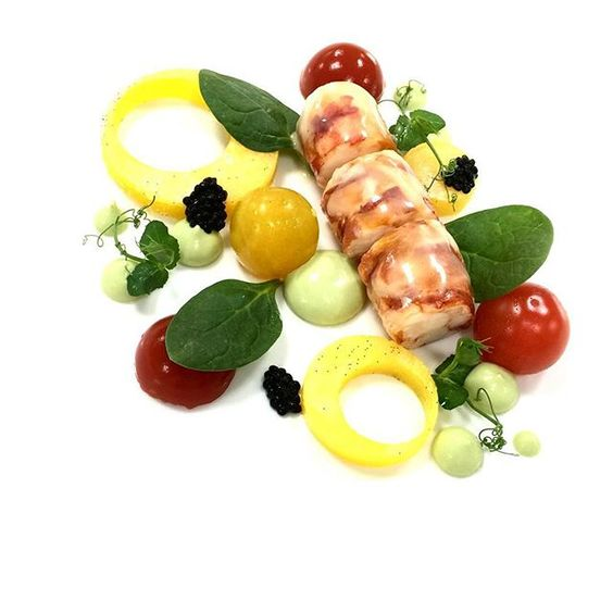 I love lobster  #healthylifestyle #cuisine #cheflife #foodstarz #foodography #FOURMagazine #gastroart #chefsofinstagram #mymadinat #foodporn #TheArtOfPlating #chefsroll #chefsgarden #chefstalk #truecooks #zomatouae #loveit #InstaYum #instaphoto #colorful #iphoto #webstagram #food #instagood #follow #photooftheday #happy #tagforlikes #like #instadaily by chef_ruchi_1987