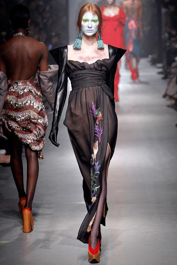 Vivienne Westwood Fall/Winter 2013-2014 at Paris Fashion Week