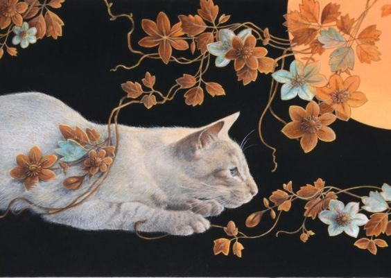 We talk to Lesley Anne Ivory, the St Albans cat artist.