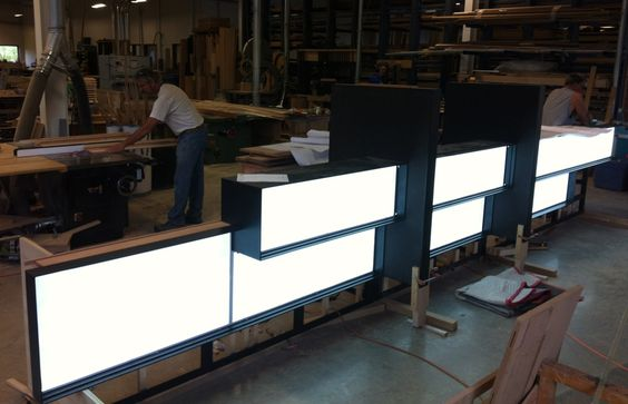 LED Light Panel | Custom Edge-Lit Acrylic Light Sheet