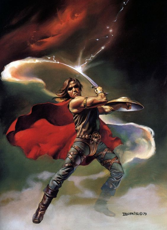 Boris Vallejo | 1979 | Fantasy art