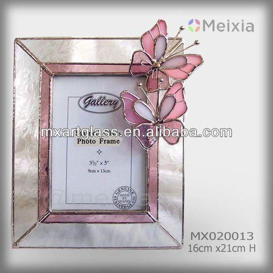 Estilo de tiffany stained glass mx020013 mariposa marco de for Decoracion hogar al por mayor