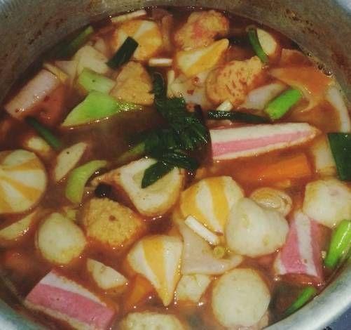 Resep Steamboat Aka Sukiyaki Kuah Tom Yum Oleh Whyintnayu Resep Makanan Dan Minuman Makanan Pedas Ide Makanan