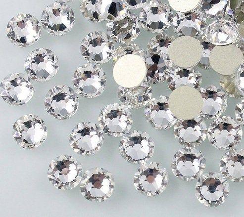 Swarovski crystals AB flat back stones gems rhinestones non hotfix MIX SIZE BAG