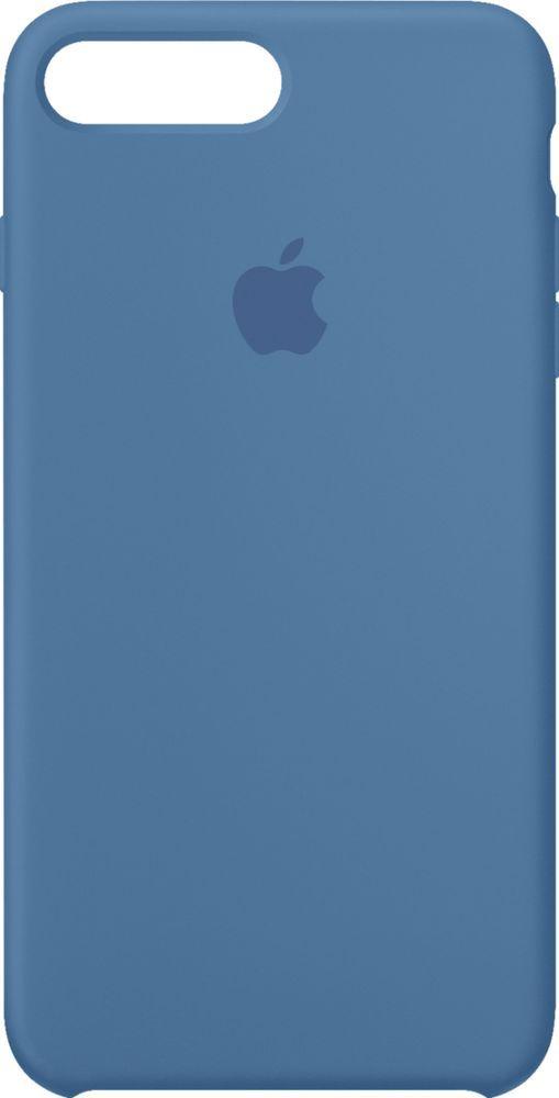 Best Buy Apple Iphone 8 Plus 7 Plus Silicone Case Denim Blue Mrfx2zm A Silicon Case Iphone 8 Plus Apple Iphone