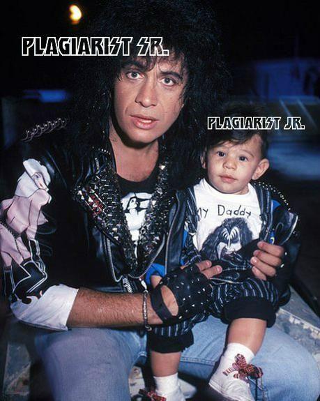 plagiarists...