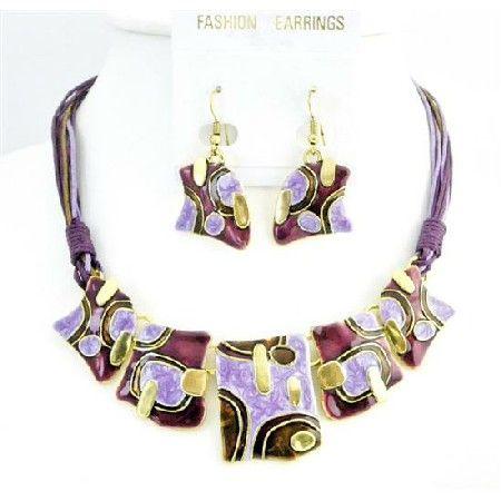 Purple Jewelry | Jewelry,Jewelry Necklace,Jewelry Set,Dark Purple,Purple Jewelry,Purple ...