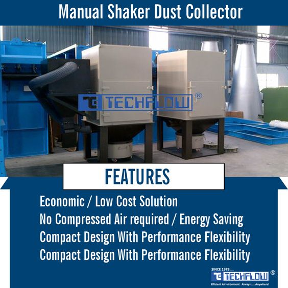 Manual Shaker Is One Of The Most Cost Effective Dust Collector