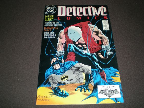 DC Detective Comics 598, 80 Page Giant, (1989), Blind Justice, DC Comics B2 by HeroesRealm on Etsy