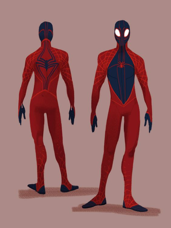 Spider-Man redesign by Claie Hummel on @deviantART
