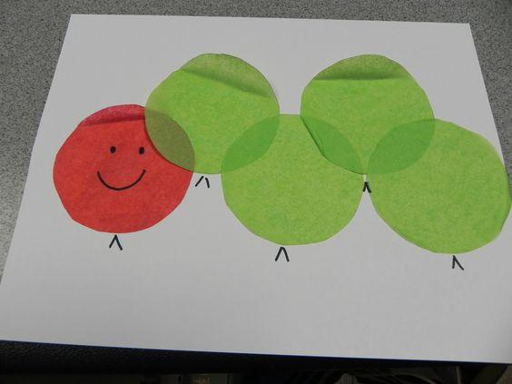 Libraryland: Very Hungry Caterpillar Craft
