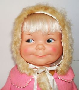 Ideal Little Lost Baby 3 faces vintage doll