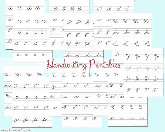 Handwriting in school!!!?