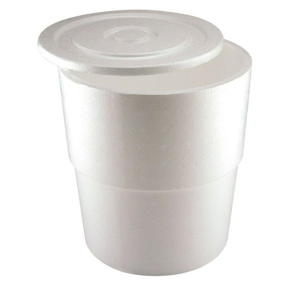Round Styrofoam Cooler ~ Leaktite gal bucket cooler bc col at the home depot