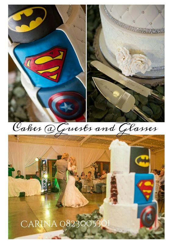 Super Hero Wedding Cake  Carina Sephton 0823005301 Lydenburg,  Dullstroom,  Machadodorp,