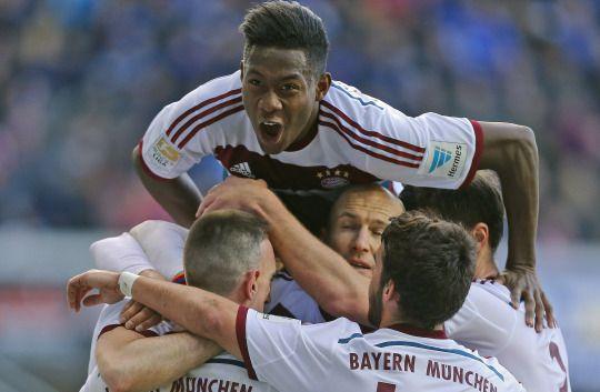SC Paderborn 07 0 - 6 FC Bayern München (21.02.2015)