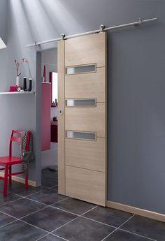 5 Idees Pour Amenager Son Interieur A Petit Prix Porte Coulissante Porte En Bois Porte Galandage