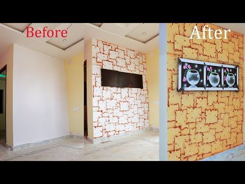 How To Spray Paint Wall Art 3d Wall Painting Ideas Youtube Spray Paint Wall 3d Wall Painting Wall Art Painting