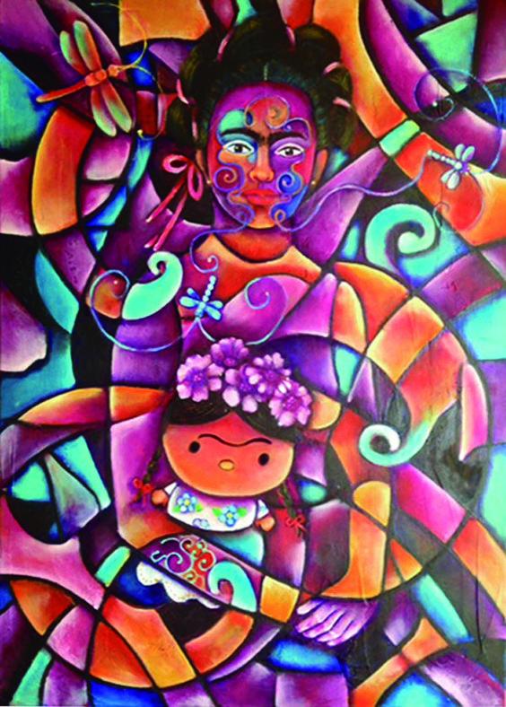 El sueño de la niña Frida