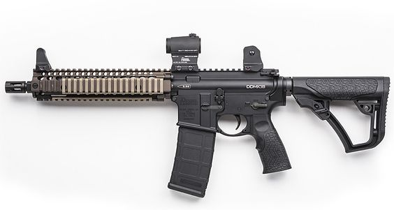 New rails and optic mount from Daniel Defense.