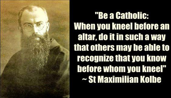 St. Maximilian Kolbe:
