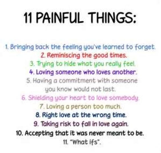 Quotes About Loving Someone Who Doesn T Love You Back: Painful Things...loving Someone Who Doesn't Love You Back