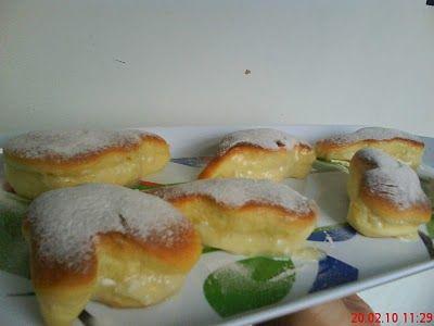 Sonhos assados com recheio de coco: Recipes For, Ideas For, Coco Profgasparetto, Sweet Recipes, Coconut, Stuffing