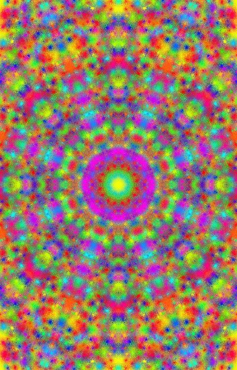Mandala colorido ;)