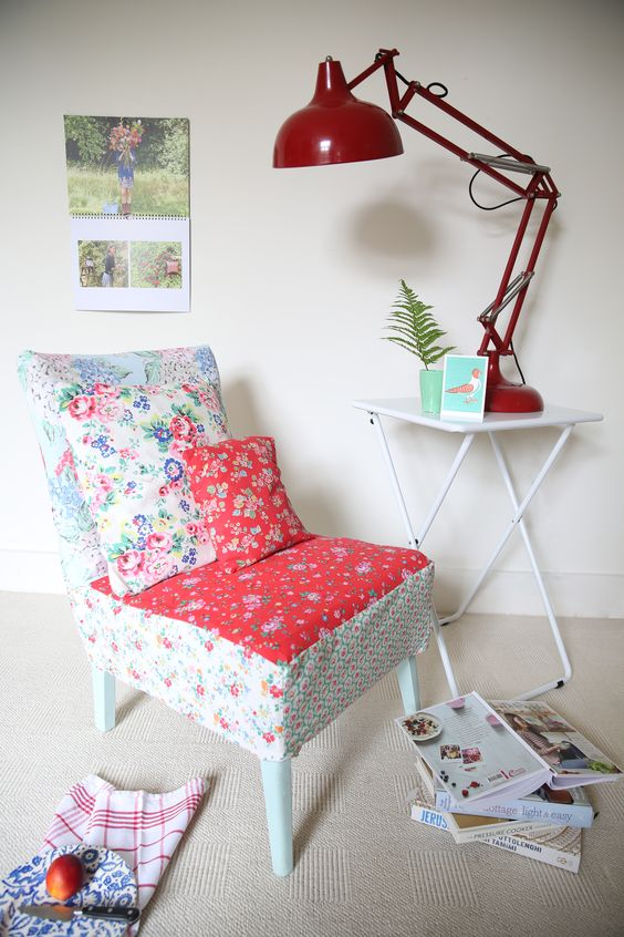 How to make a Cath Kidston chair cover