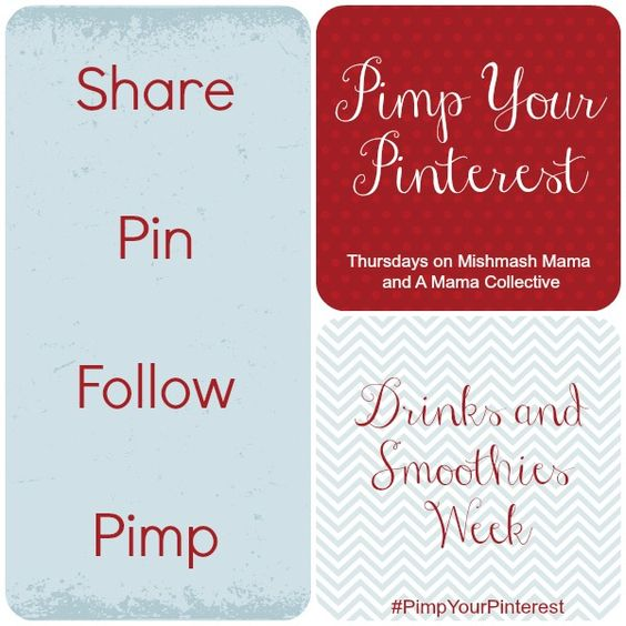 Pimp Your Pinterest #2: Drinks and Smoothies - A Mama Collective