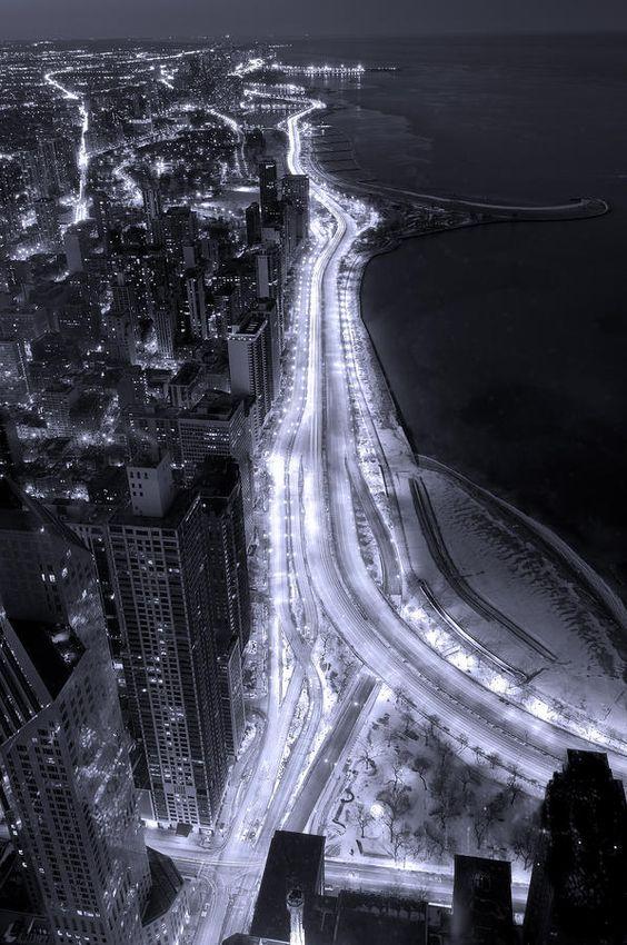 Lake Shore Drive Aerial