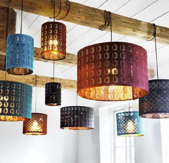 Home u0026 Garden : Jewel tones, Lamp shades and Lamps