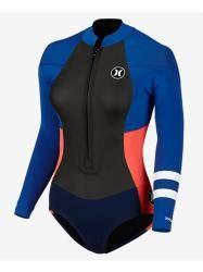 Hurley Fusion 2x2 LS Front Zip Springsuit Women