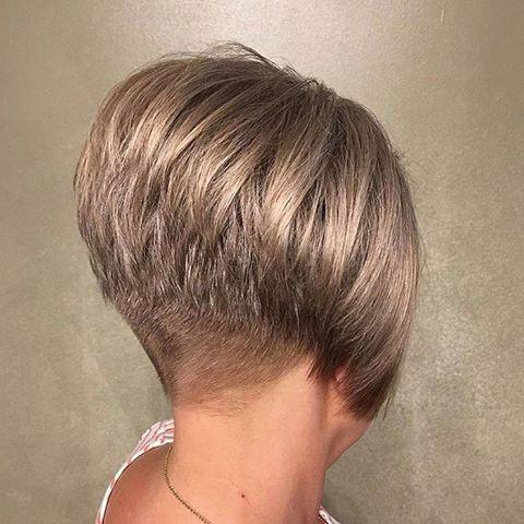 Shorthairgalery Shorthairgalery Instagram Fotos Und Videos In 2020 Short Stacked Bob Hairstyles Short Stacked Bob Haircuts Short Stacked Haircuts