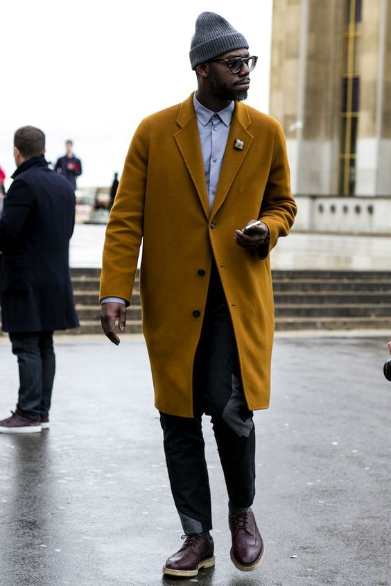 Paris Men's Fashion Week Street Style Fall 2014 - theFashionSpot