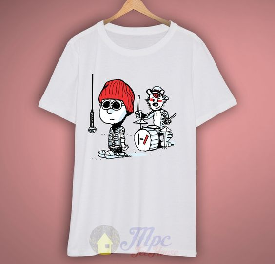 Calvin Hobbes Twenty One Pilots T-shirt