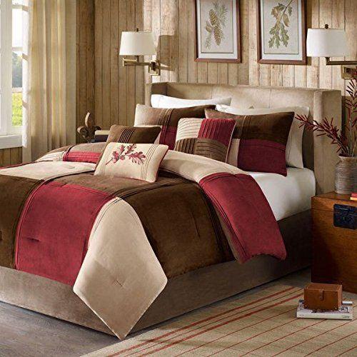 unk 7pc king patchwork comforter set