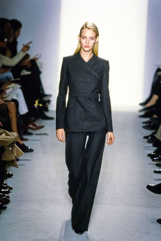 Calvin Klein Collection Fall 1997 Ready-to-Wear Fashion Show - Amy Wesson